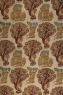 F36 Tree and Bird printed woven cotton
