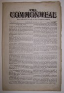 K406b The Commonweal: The Official Journal of the Socialist League, No. 115, Dated March 24,