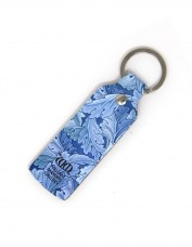 Acanthus Leather Keyring (narrow)