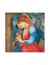 Angel Playing Flageolet Christmas Cards (pack of 5)