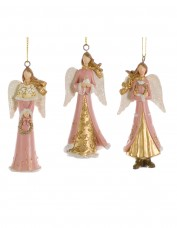Assorted Pink and Gold Angels