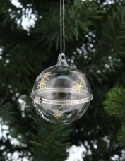 Hinged Glass Trinket Bauble