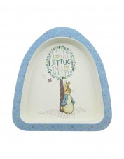 Peter Rabbit Bamboo Plate (blue)