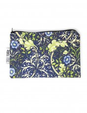 Seaweed Cotton Zip Pouch