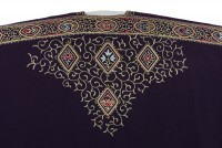 F204 Embroidered cloak