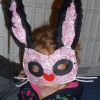 Girl in rabbit mask, Creative Kids