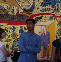Young People at Grayson Perry Walthamstow Tapestry