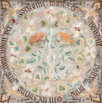 Maids of Honour Designed and worked by May Morris c. 1890s