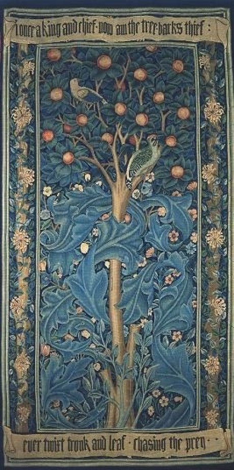 Collection Themes Woodpecker Tapestry William Morris